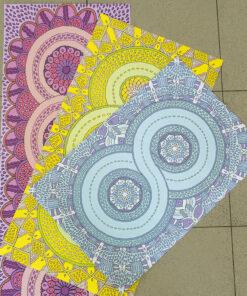 Hippie poster-Infinity Mandalas